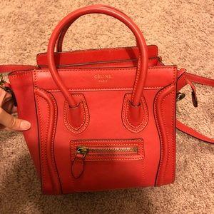 Red Mini Luggage Bag